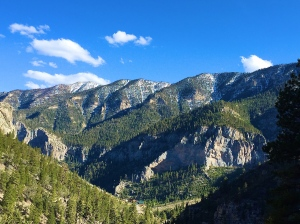 The view from the crag on Mt Charleston.