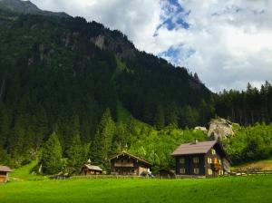 Farmhouse in the Austrian Alps