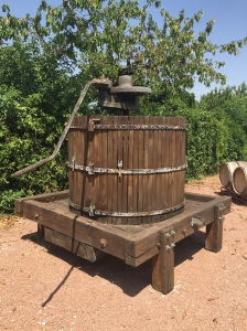 Old grape press.