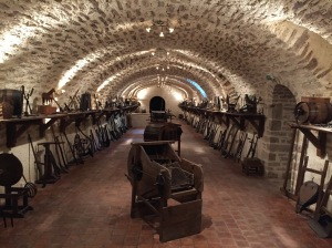 This room is simply stunning.........and full of wine making history.