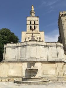 The Romanesque Notre Dame des Doms.