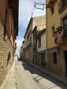 The streets of Castelltercol.