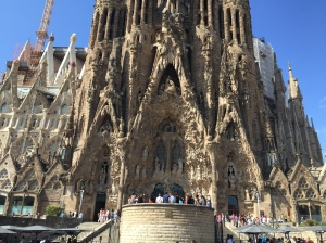 Sangrada Familia - look at the detail on the masonry, incredible.