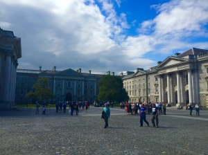 The grounds at Trinity College.