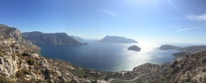 The Aegean coastline in panorama.........love my iPhone 6.