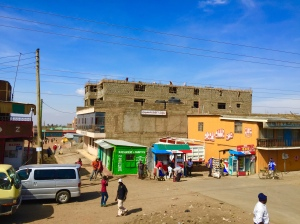 Another colourful township along the way