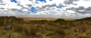 The border of the Serengeti and Ngorongoro Conservation Areas.