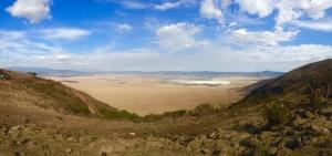 Ngorongoro Crater from the rim.
